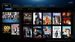 <img src='http://amd-dev.wpengine.netdna-cdn.com/wordpress/media/2014/03/vudu_logo_120x44.png' class='alignright'><p>VUDU offers the hottest new movies streaming instantly from your web browser without a subscription. Rent or buy movies and view them on your PC, PS3™ or VUDU­enabled TV or Blu-ray player. VUDU offers many new releases the same day as DVD ­­ over 20,000 titles including blockbusters, classics and independents --­­ plus a growing library of TV content, including next-­day­-air of your favorite shows.</p><a href='http://www.vudu.com/' target='blank' class='action'>Learn More</a>
